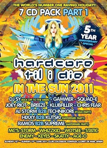HTID In The Sun 2011 Part 1 CD Pack