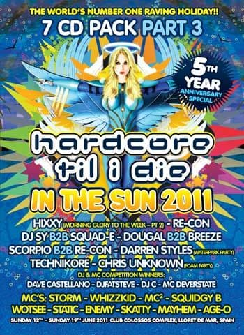 HTID In The Sun 2011 Part 3 CD Pack