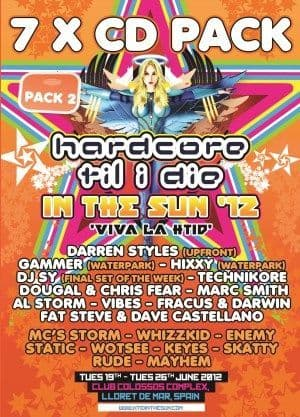 HTID In The Sun 2012 Part 2 CD Pack