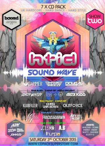 HTID Sound Wave - Show Two - CD Pack