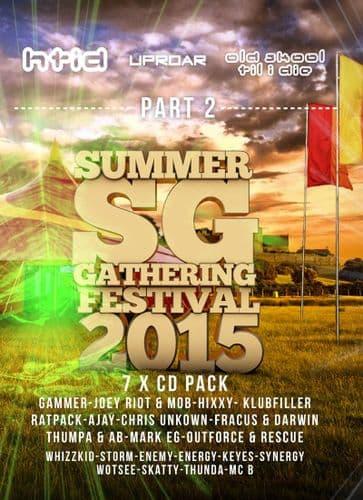 HTID/Uproar - Summer Gathering 2015 - Part 2 CD Pack