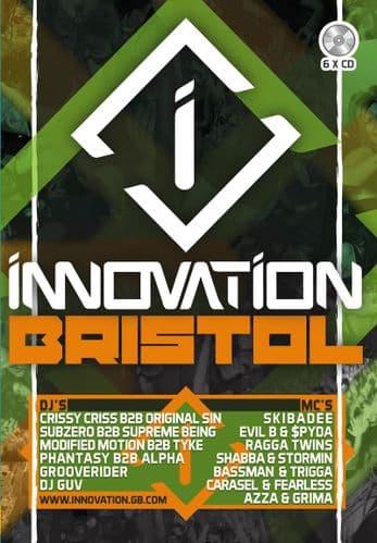 Innovation – Bristol 2015 – 6 CD Pack