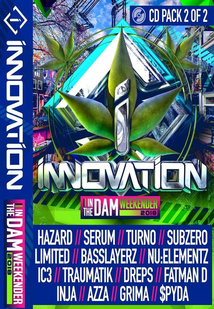 Innovation - In The Dam - 2018 - CD Pack 2