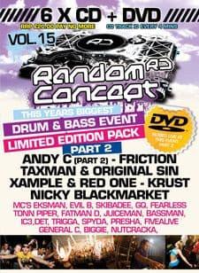 Random Concept Vol 15 CD Pack