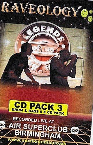 Raveology - Legends Of The Dark Black - Pack 3
