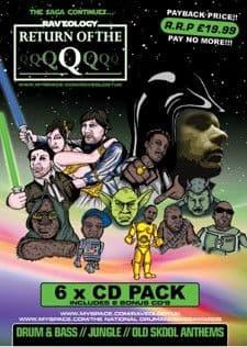 Raveology - Return of the Q CD Pack