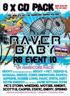 Raver Baby 10 CD Pack