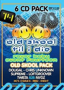 Raver Baby 14 Old Skool CD Pack