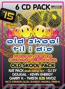 Raver Baby 15 Old Skool CD Pack