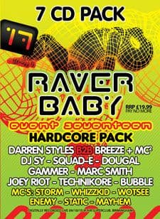 Raver Baby 17 CD Pack