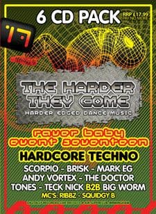 Raver Baby 17 Techno CD Pack