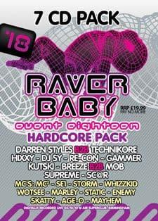 Raver Baby 18 CD Pack