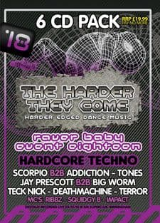 Raver Baby 18 Techno CD Pack