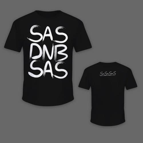 Sasasas - Big Script - T-shirt