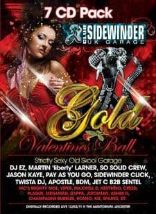 Sidewinder Gold Valentines Ball CD Pack