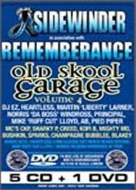 Sidewinder meets Rememberance Old Skool Garage Vol 4 CD Pack
