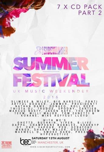 Sidewinder - Summer Festival - 2016 - Pack 2