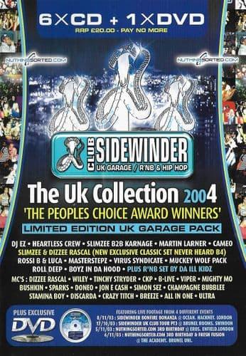 Sidewinder - Uk Collection - 2004