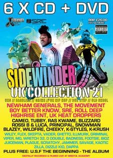 Sidewinder UK Collection 21 CD Pack