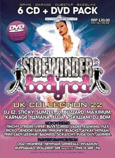 Sidewinder UK Collection 22 CD Pack