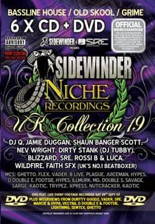 Sidewinder Vs Niche UK Collection 19 CD Pack