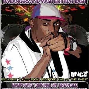 Skibadee's -  Bangers & Mash Birthday Bash - 2009 - CD Pack