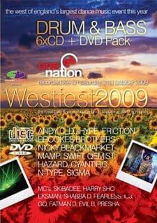Slammin Vinyl Westfest 2009 Drum & Bass CD Pack