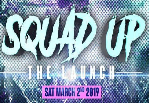 Squad Up - The Launch - 2019 - USB Stick