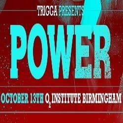 Trigga Presents - Power - Trigga's Birthday Bash 2018 - USB Stick