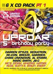 Uproar - 5th Birthday Part 1 CD Pack