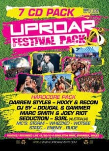 Uproar - Festival 2010 CD Pack