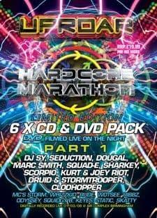 Uproar - Hardcore Marathon Vol 1 CD Pack