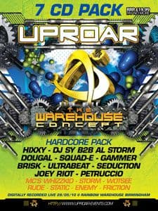 Uproar - The Warehouse Concept CD Pack