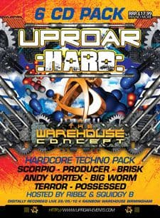 Uproar - The Warehouse Concept Techno CD Pack