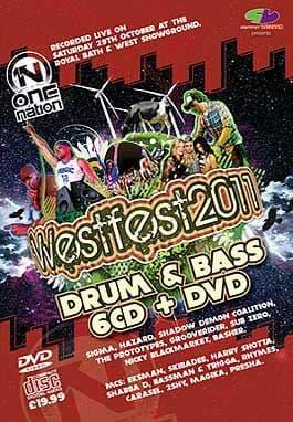 Westfest 2011 Drum & Bass CD Pack