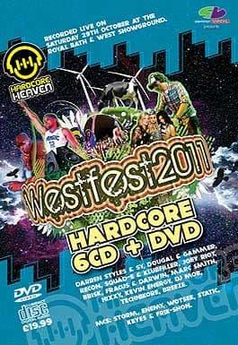 Westfest 2011 Hardcore CD Pack