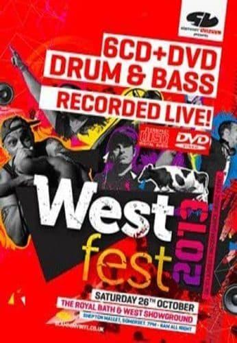 Westfest - 2013 - Drum & Bass - CD Pack