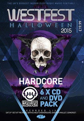 Westfest 2015 – Hardcore  CD Pack