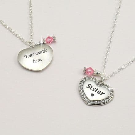 Pretty Birthstone Necklace for Mummy, Sister etc