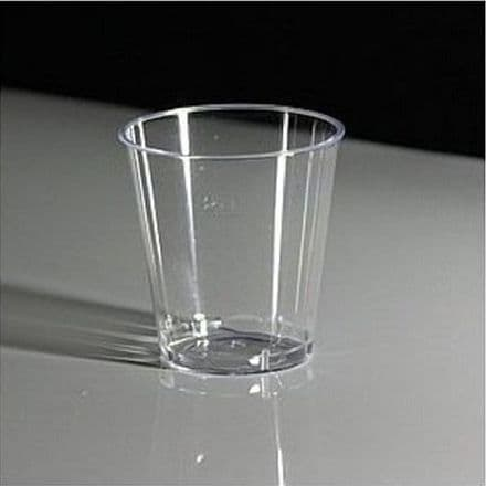 25 ml Plastic Shot Glass