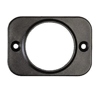 1 Hole Front Panel Mount for 28mm Sockets-0-601-51