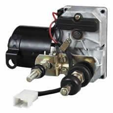 12V Wiper Motor - Switched/Autopark 58mm Twin Shaft 90°-0-866-90
