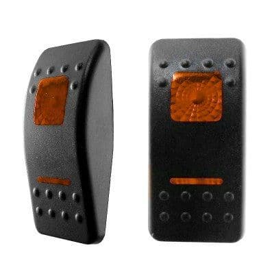 Amber Lens for Double-Illuminated Rocker Switch-0-796-90