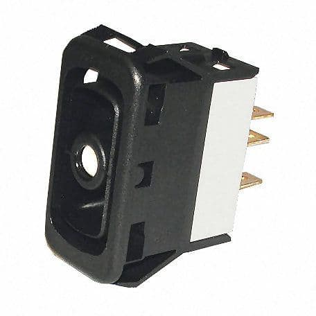 Change Over Double-Pole Non-Illuminated Two-Position Switch Body - 15A at 28V-0-782-20