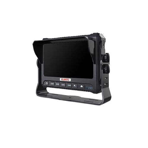 """Durite 7"""" 1080P Full HD Touchscreen DVR Monitor - 4 Channels  0-774-10"""