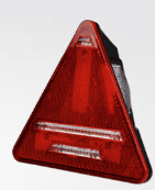 DURITE    TRIANGLE TRAILER COMBINATION LIGHT   Left handed   0-300-61