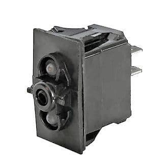 Off/On Double-Pole One-Illumination Two-Position Rocker Switch Body-0-780-61
