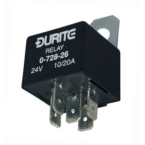 Relay Mini Change Over 30/40A 12V with Diode-0-728-34