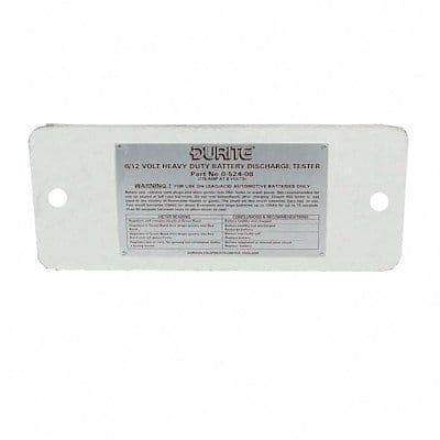 Replacemen Heat Shield Plate for Battery Tester 0-524-08.-0-524-16