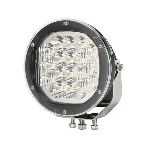 "Ultra Bright 9"" Round LED Auxiliary Driving Lamp - 12000LM-0-537-49"